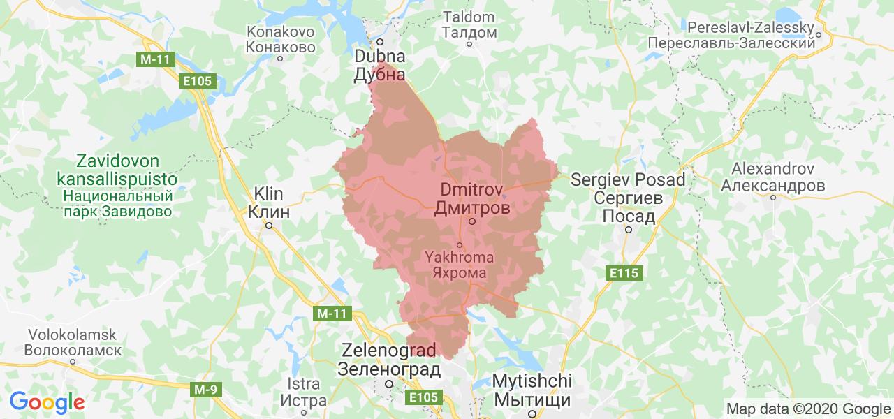 Дмитровский район